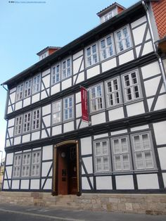 Traditional architecture in the old city The City museum/Stadtmuseum, Göttingen