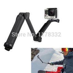 >> Click to Buy << 3-Way Monopod + Tripod + Gopro screw +  Grip Super Magic Mount  Stick for GoPro Hero 4 /3 #Affiliate