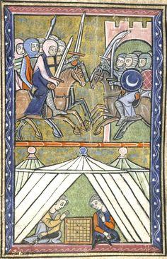 John II Comnenus besieging Caesarea Antioch Shaizar 1138