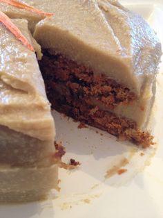 {raw vegan} carrot cake