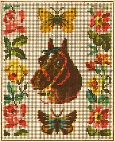 Antique Embroidery/Cross Stitch Chart #1
