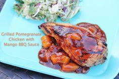 Pomegranate Chicken Mango BBQ
