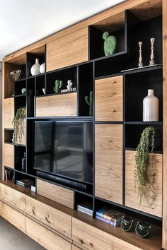 Home Office Design, House Design, Home Room Design, Home Library Design, Living Room Designs, Interior Design Bedroom, Modern Tv Room, Tv Room Design, Room Design