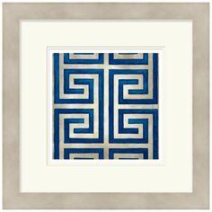 Surya Classical Symmetry VIII Framed Art @Zinc_door #art #zincdoor #suryasale #modern