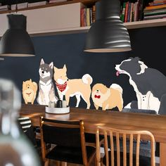 Husky Shiba Iun Dog Breed Wall Decal VInyl Stickers For Dog Groomers Vet Tech Pet Shop Decor 13.98 Follow us for the Latest and Trending items for Dog Lovers ❤ FREE Shipping worldwide ✈ #doglovers #petlovers #doggroomers #dogbreeds #doglovergifts #petowners #pawprint #pawsome #dogmom #dog #dogs #doglover #doglife #doggy #doglove #puppies #doggie #doggies #dogprints