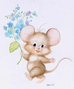 House illustration cute mice 51 Ideas for 2020 Maus Illustration, Illustration Mignonne, Tatty Teddy, Cute Animal Drawings, Cute Drawings, Cartoon Mignon, Art Mignon, Mouse Pictures, Cute Mouse