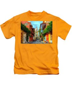 Kids T-Shirt - Heroic City, Cartagena De Indias Colombia