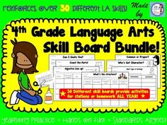 Spiral through 30 important Language Arts new learning standards for the intermediate classroom with this HANDS-ON, YEARLONG activity bundle! This engaging set of standards-aligned sorting boards will have students identifying, analyzing, and sorting common language arts items such as figurative language, grammar, 1st and 2nd hand accounts, text structure, roots, writing purposes, and so much more!