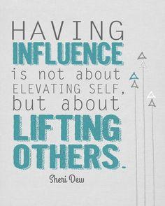 Having Influence - Printable  - landeelu.com