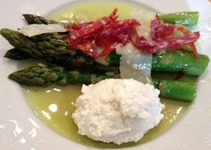 Asparagus with Whipped Ricotta
