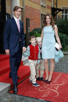 Luxembourg Royals ~ Prince Louis and Princess Tessa