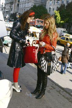 Gossip Girl Season 1. Blair Waldorf, Serena van der Woodsen.