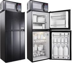 Compact Appliances for Individuals & Consumers Tiny House Cabin, Tiny House Plans, Tiny House Design, Apartment Size Refrigerator, Tiny House Furniture, Tiny House Community, Cabins And Cottages, Tiny Spaces, Tiny Living