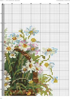 ru / Фото - A - kento Cross Stitching, Cross Stitch Embroidery, Embroidery Patterns, Hand Embroidery, Cross Stitch Patterns, Tiny Cross Stitch, Cross Stitch Flowers, Cross Stitch Christmas Ornaments, Knitting Stitches