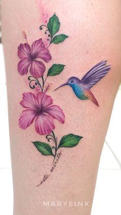 60 trendy bird tattoo leg hummingbirds - 60 trendy bird tattoo leg hummingbirds The Effective Pictures We Offer You About tatt - Tattoo Girls, Mom Tattoos, Wrist Tattoos, Cute Tattoos, Body Art Tattoos, Small Tattoos, Sleeve Tattoos, Tattos, Hummingbird Flower Tattoos
