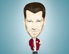 "Check out new work on my @Behance portfolio: ""Digital 2D real caricature"" http://be.net/gallery/47343749/Digital-2D-real-caricature"