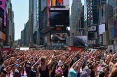 New York celebrated International Yoga Day