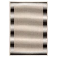 Constructed from 100% polypropylene Modern Porch, Modern Outdoor Rugs, Coastal Area Rugs, Area Rug Sizes, Striped Rug, Pattern Blocks, Stripe Pattern, Indoor Outdoor Area Rugs, Throw Rugs