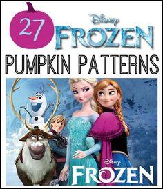 Frozen Pumpkin Patterns