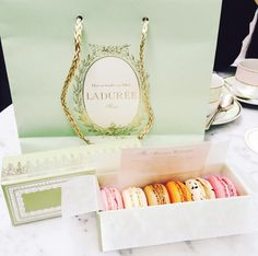 Who doesn't love a macaron? Well, Laduree's are the absolute best and their new Soho location is complete with a beautiful garden restaurant that you'll want to hang around in all day!