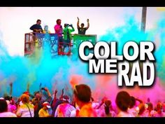 A RAD VIDEO | Color Me Rad 5K Benefits Friends of Children's Hospital | http://newsocracy.tv