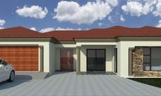 South African Tuscan House Plans Designs Images Single Contemporary One Floor House Kerala Home Hou. Brick House Designs, Brick House Plans, Tuscan House Plans, House Design Photos, Modern House Plans, House Floor Plans, House Plans For Sale, House Plans With Photos, Single Storey House Plans