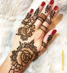 50 Ring Mehndi Design (Henna Design) - October 2019