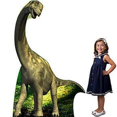 This Camarasaurus Dinosaur Large Standee makes a great photo op for any dinosaur themed event.