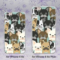 Puppies Cubs Dogs Poodle Pug Doggy Design hard White Skin Case Cover for Apple iPhone SE 4 4s 5 5s 5c 6 6s Plus