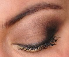 Matte smoky eyes with Urban Decay Naked Basics palette.