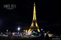 Paris 2015 - Tour Eiffel soir Tour Eiffel, Paris 2015, Tower, Building, Travel, Voyage, Lathe, Eiffel Towers, Buildings