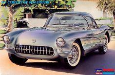 シボレー コルベット ロードスター(1957年型)/  CHEVROLET CORVETTE ROADSTER (1957)