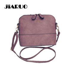 JIARUO Korean Retro Suede Bag Leather Women Small Shell Do Old Messenger Bag CrossBody Bag Lady Handbag Causal Travel Clutch  Price: 8.59 USD