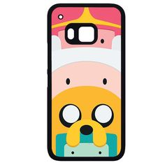 Adventure Time Cute CharactersPhonecase Cover Case For HTC One M7 HTC One M8 HTC One M9 HTC ONe X