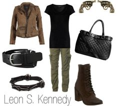 Leon Kennedy fashion inspired from Resident Evil 4
