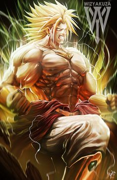 The Legend Awoken - Broly - #DragonBall #DragonBallZ #DBZ