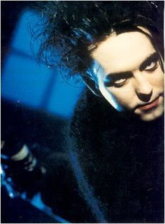 Hilda's first boyfriend looked like Robert Smith of The Cure.