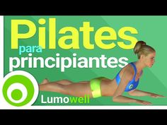 Pilates para Principiantes en Casa para Adelgazar y Tonificar - YouTube