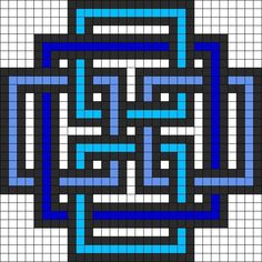 Pearl geometric square pattern of pearl minecraft pixel art grid maker anime ideas … – minecraft – Hama Beads Kandi Patterns, Pearler Bead Patterns, Bead Loom Patterns, Perler Patterns, Beading Patterns, Bracelet Patterns, Embroidery Patterns, Art Patterns, Knitting Patterns