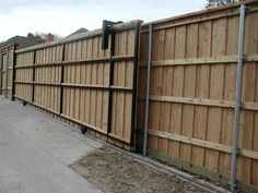 Diy Sliding Gate Fence Pinterest Sliding Gate