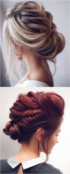 60 Best Wedding Hairstyles by Tonyastylist for the Modern Bride WedNova . – Nardis Roscoe 60 Best Wedding Hairstyles by Tonyastylist for the Modern Bride WedNova . 60 Best Wedding Hairstyles by Tonyastylist for the Modern Bride WedNova . Wedding Hairstyles For Long Hair, Wedding Hair And Makeup, Bride Hairstyles, Wedding Updo With Braid, Bun With Braid, Bridal Hair Updo Loose, Curled Updo Hairstyles, Hair Styles For Wedding, Low Chignon Bun