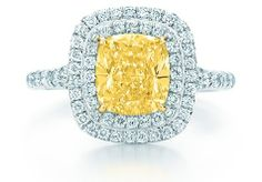 3. Tiffany Soleste Yellow Diamond Ring - 7 Gorgeous Yellow Diamonds by Tiffany ... | All Women Stalk