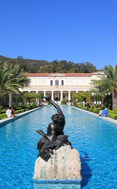 J. Paul Getty Villa | Travel | Vacation Ideas | Road Trip | Places to Visit | Los Angeles | CA | Art Gallery | Other Historical | Historic Site | Tourist Attraction | Museum