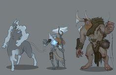 Moba Character Design , Adrian Wilkins