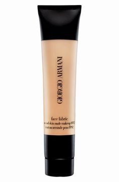 Giorgio Armani 'Face Fabric' Foundation available at #Nordstrom