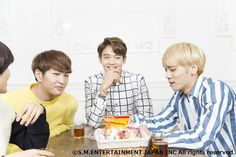 Onew, Minho and Jonghyun ❤
