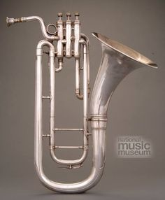 Cooper alto horn in E-flat D high pitch made by Roy Cooper in Elkhart Indiana ca. Brass Musical Instruments, Brass Instrument, Dope Music, Art Music, Tenor Horn, Elkhart Indiana, Music Museum, Trombone, Metal