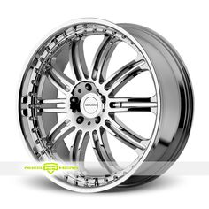 KMC KM127 Dime Chrome Wheels For Sale - For more info:  http://www.wheelhero.com/customwheels/KMC/KM127-Dime-Chrome