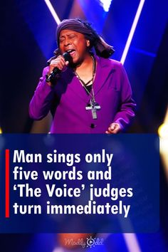 Jimi Bellmartin went on 'The Voice' for his blind auditions, and he couldn't have done any better. Singing James Brown's 'It's A Man's Man's Man's World,' all it took was the first five words for the judges to turn their chairs. Without even looking at each other the judges turned at the same time. #thevoice #singing #song #music Talent Show, America's Got Talent, Perfect Music, Good Music, Keith Urban Songs, The Voice Of Holland, Audition Songs, Crying Shame, Soul Singers