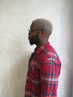 Black people with blonde hair, mens fashion, bearded men, afro blond, Helsinki, New York, Kallio Hair made by talented: Emma Mangani @ Salon Camu